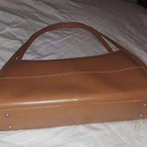 Handbags - BROWN  HANDBAGS  WITH DETAILS